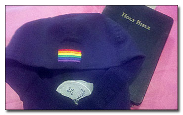 Bible gay hat