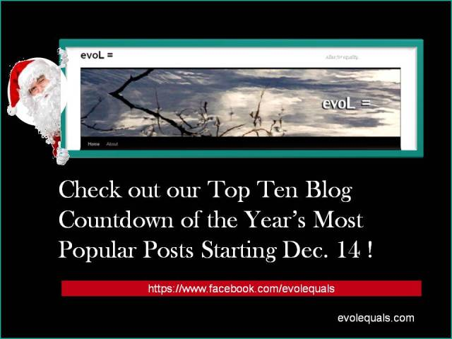 Join EvoL= for Our Top Ten Countdown of 2012!