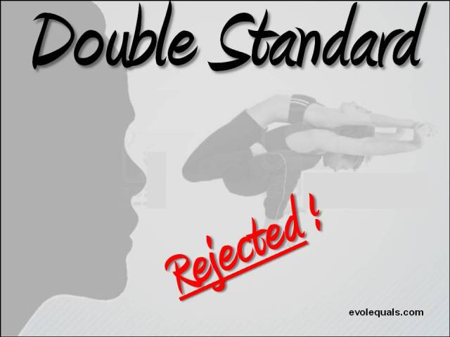 Double Standard Rejected