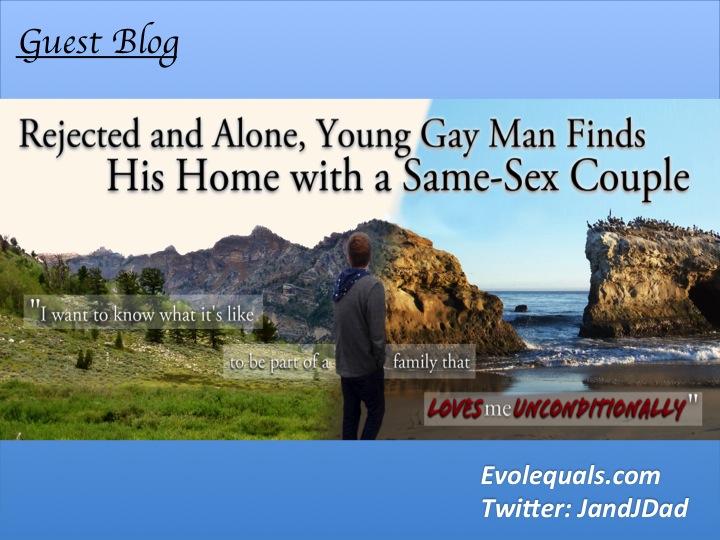 Gay men on boat