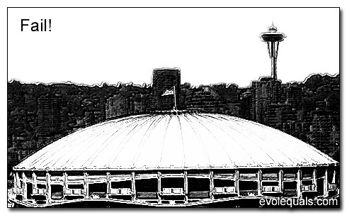 Kingdome in Seattle