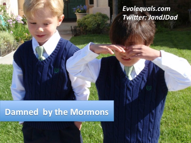 damned by mormons