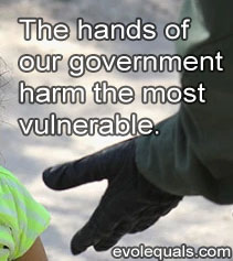 Vulnerable children detained at the border.